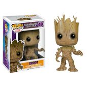 Figura-Colecionavel---Funko-POP---Disney---Marvel---Os-Guardioes-das-Galaxias---Groot---Funko