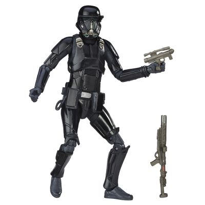 Figura-Colecionavel-Star-Wars---Rogue-One---The-Black-Series---14-cm---Imperial-Death-Trooper---Hasbro---Disney
