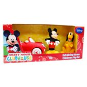 Personagens-com-Veiculo-Soft---Mickey-Mouse-Clubhouse---Mickey-e-Pluto---Happy-Team