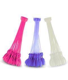 Bunch-O-Ballons---Acessorio-para-Encher-Baloes-de-Agua---Colorido---Rosa-Branco-e-Roxo