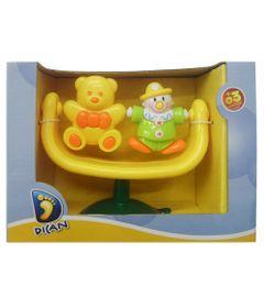 Chocalho-Duplo-com-Ventosa---Urso-Amarelo---Dican