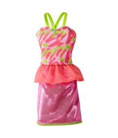 Roupinha-para-Boneca-Barbie---Laranja-e-Pink---Mattel