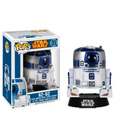 Figura-Colecionavel---Funko-POP---Disney---Star-Wars---R2D2---Funko