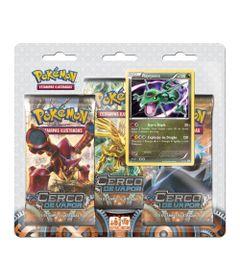Deck-Pokemon---Blister-com-3-Unidades---XY11---Cerco-de-Vapor---Rayquaza---Copag-97409-1-frente