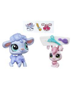 Mini-Bonecas-Littlest-Pet-Shop---Livvy-Lambton-e-Rosalina-Lapina---Hasbro