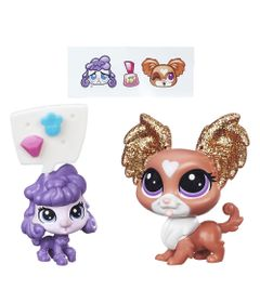 Mini-Bonecas-Littlest-Pet-Shop---Tresora-Royale-e-Minette-Dazzleby---Hasbro