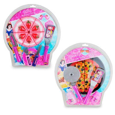 Kit-Conjunto-Comidinhas---Bolo-e-Pizza---Princesas-Disney---Toyng
