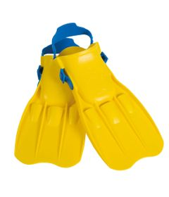 Nadadeira-Media---Amarela---Intex