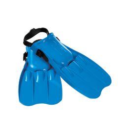 Nadadeira-Media---Azul---Intex