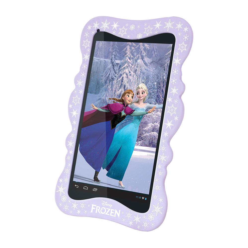 Tablet - Disney - Frozen - 5 Polegadas e 8GB de Memória - Tectoy
