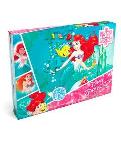 Quebra-Cabeca---Princesas-Disney---Ariel---Grow-Embalagem
