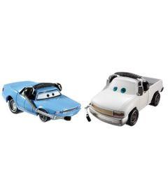 Veiculos-Hot-Wheels---Disney-Cars-2---Pack-com-2-Veiculos---Artie-e-Brian-Fee-Clamp---Mattel