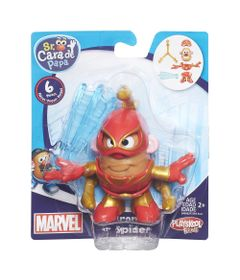 Mini-Figura-Transformavel---Mr.-Potato-Head---Marvel---Iron-Spider---Hasbro---Disney