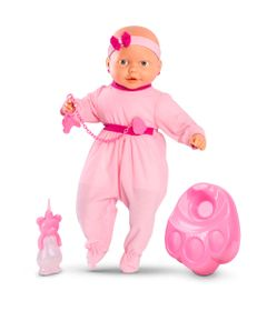 Boneca-Bebe-Mania-Xixi---Macaquinho-Rosa-com-Faixa-Pink---Roma-Jensen