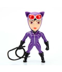 Figura-Colecionavel-6-Cm---Metals---DC-Super-Hero-Girls---Catwoman-Roxa---DTC