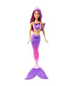 Boneca-Barbie---Reinos-Magicos---Sereia-do-Reino-dos-Cristais---Mattel-Frente