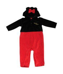 Macacao-sem-Pe-em-Plush---Minnie---Preto-e-Vermelho---Disney