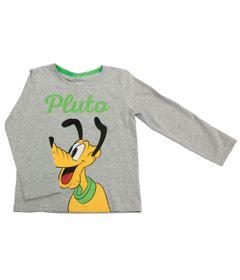 Camiseta-Manga-Longa-em-Meia-Malha---Pluto---Mescla---Disney---1