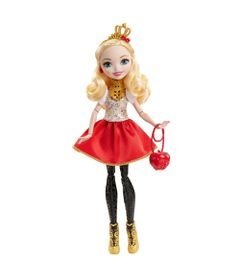 Boneca-Articulada---30-Cm---Ever-After-High---Powerfull-Princess-Club---Apple-White---Mattel