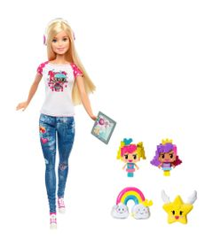 Boneca-Barbie-Articulada-30-Cm---Barbie-Video-Game-Hero---Mattel