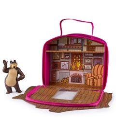 Playset-e-Mini-Figura---Masha-e-o-Urso---Casa-do-Urso---Sunny