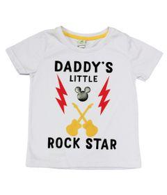 Camiseta-Manga-Curta-em-Meia-Malha---Mickey---Branca---Disney---1