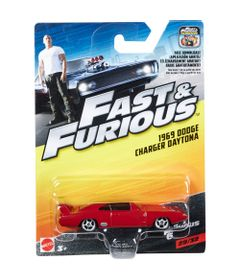 Carrinho-Die-Cast---Hot-Wheels---Velozes-e-Furiosos---1969-Dodge-Charge-Daytona---Mattel