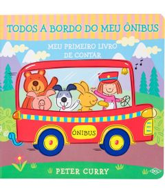 Meu-1º-Livro-de-Contar---Todos-a-Bordo---Onibus---Editora-DCL