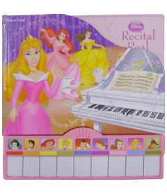 Recital-Real---Pilbooks---Princesas-Disney---Editora-DCL