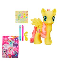 Conjunto-Figuras-My-Little-Pony---Mini-Figura-Sortida-Cutie-Mark-Magic-e-Fluttershy---Hasbro