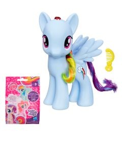 Conjunto-Figuras-My-Little-Pony---Mini-Figura-Sortida-Cutie-Mark-Magic-e-Rainbon-Dash---Hasbro
