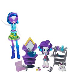 Playset-e-Boneca-My-Little-Pony---Colecao-de-Beleza---Equestria-Girls---Rarity-e-DJ-Pon-3---Hasbro