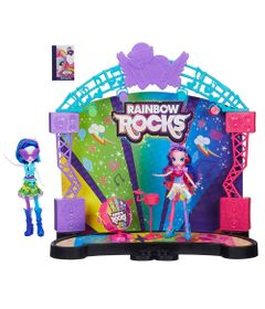 Playset-e-Boneca-My-Little-Pony---Palco-Pop-Equestria-Girls-Rainbow-Rocks-e-DJ-Pon-3---Hasbro