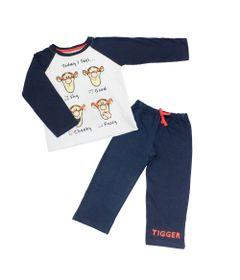 1-Conjunto-Camisa-Manga-Longa-e-Calca-de-Moletom---Tigrao---Branco-e-Marinho---Disney---2