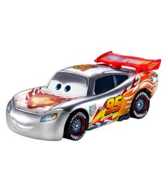 Carrinho-em-Diecast-Prata---Disney-Cars---Relampago-McQueen---Mattel