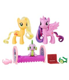 Conjunto-My-Little-Pony---Amigas---Princess-Twilight-Sparkle-and-Applejack---Hasbro