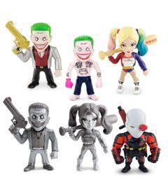 Kit-6-Figuras-Colecionaveis-10-Cm---Metals---DC-Comics---Suicide-Squad---DTC