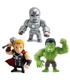 Kit-3-Figuras-Colecionaveis-15-Cm---Metals---Disney---Marvel---Civil-War-e-Hulk---DTC