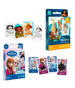 Kit-Jogos-de-Cartas---Disney---Rouba-Monte-Frozen-e-Jogo-da-Memoria-Moana---Copag