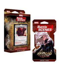 Kit-Decks-Battle-Scenes---Disney---Marvel---Ascensao-e-Queda---Demolidor-e-Gata-Negra---Copag