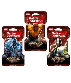 Kit-Decks-Battle-Scenes---Disney---Marvel---Ascensao-e-Queda---Odin---Luke-Cage-e-Raio-Negro---Copag
