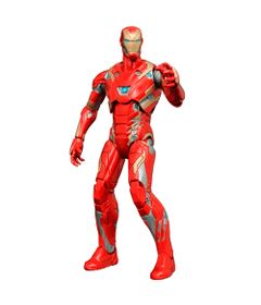 Figura-Colecionavel-18-Cm---Disney---Marvel---Captain-America---Civil-War---Iron-Man-Mark-XLVI---Iron-Studios