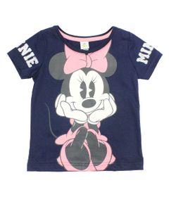 Blusa-Manga-Curta-em-Meia-Malha-Estampada---Minnie---Marinho-Rosa-e-Branco---Disney