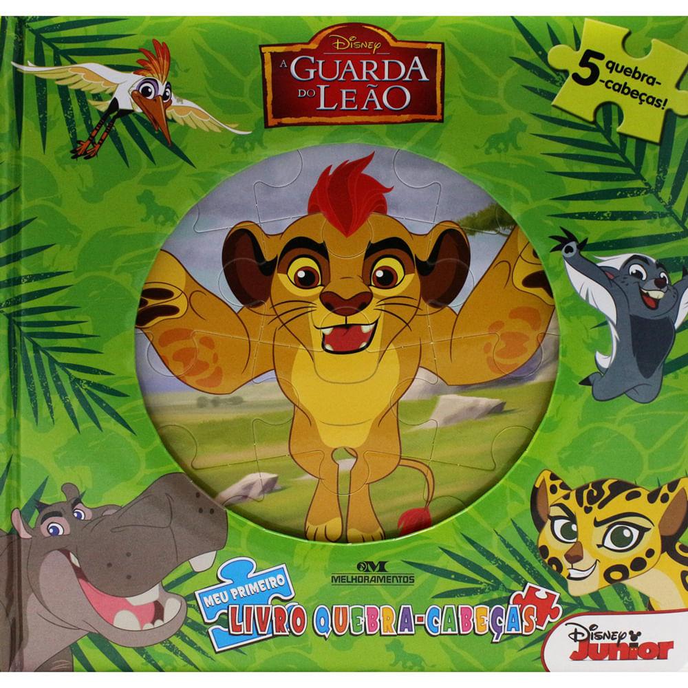 Meu Primeiro Livro Quebra - Cabeças - A Guarda do Leão - Disney - Melhoramentos