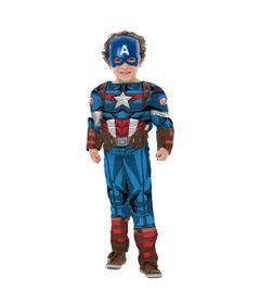 Fantasia-Classica-Luxo---Capitao-America---Avengers---Marvel---Rubies---G