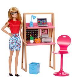 Boneca-Barbie-Articulada---Barbie-com-Moveis-e-Acessorios---Barbie-no-Escritorio---Mattel
