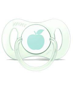 Mini-Chupeta-Para-Recem-Nascidos---0-a-2-Meses---Single---Verde---Philips-Avent