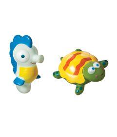 Brinquedo-para-Banho---Animais-do-Mar---Tartaruga-e-Cavalo-Marinho---Girotondo-Baby