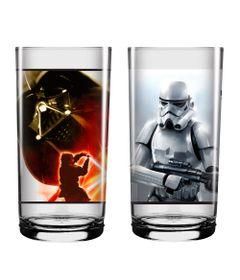 Kit-de-Copos---410Ml---Disney---Cenas---Star-Wars---Stormtrooper-e-Darth-Vader---Nadir-Figueiredo