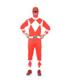 Fantasia-Adulta---Mighty-Morphin---Power-Rangers---Ranger-Vermelho---Sulamericana
